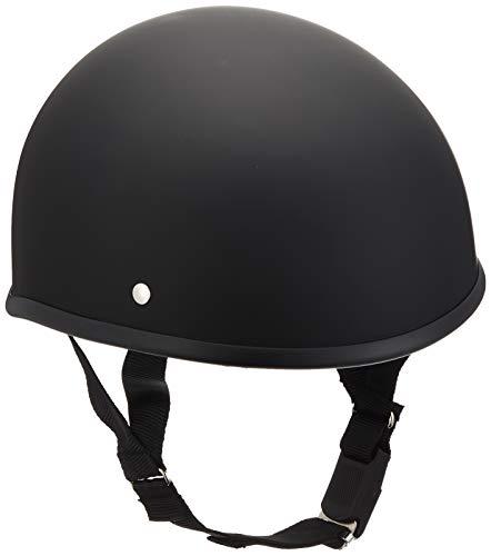 バイクパーツセンター ヘルメット ハーフ ダックテール マットブラック フリーサイズ (頭囲 57cm~60cm未満) 7117