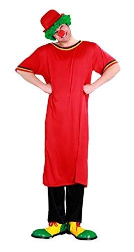 Juguetes Fantasia - Disfraz payaso rojo adulto