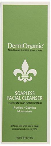Dermorganic Soapless Facial Cleanser, 8.5 Ounce