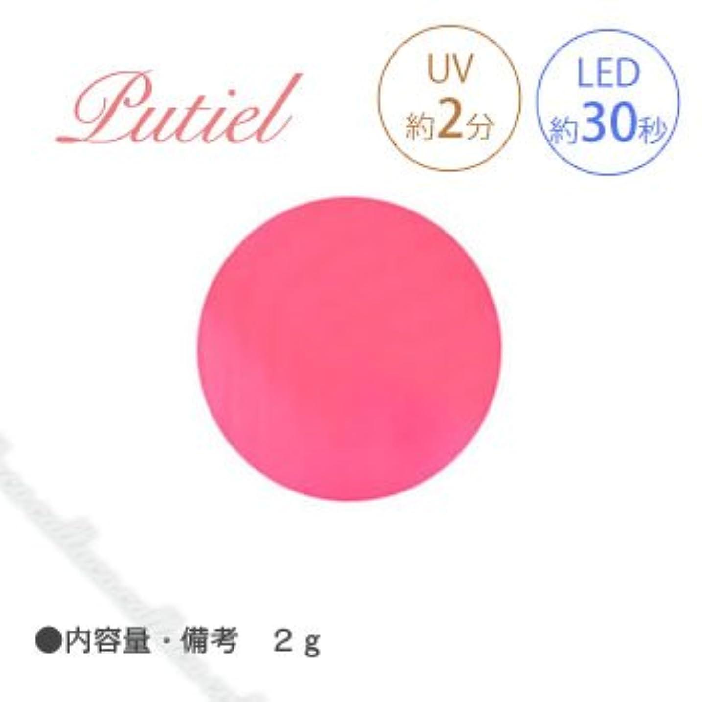 勇敢なバイオレット水星Putiel プティール カラージェル 145 ソフトネオンピンク 2g
