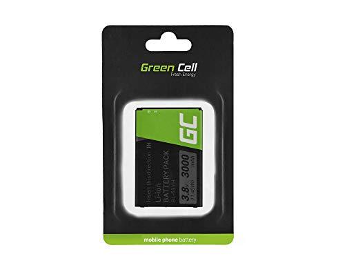 Green Cell BL-53YH Handy Akku für LG G3 D850 D855 Optimus | Li-Ion Zellen | 3000 mAh 3.7V | Ersatz Smartphone Batterie | Markenakku | Volle Kompatibilität | Reale Kapazität | ohne Memory-Effekt |