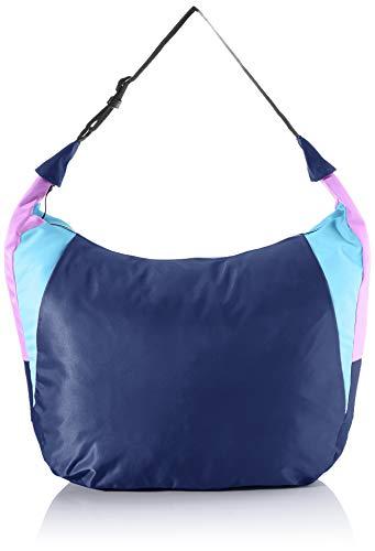 TOM TAILOR Denim Schultertasche Damen, Blau, Alicante, 38x15x41 cm, Handtasche, Shopper