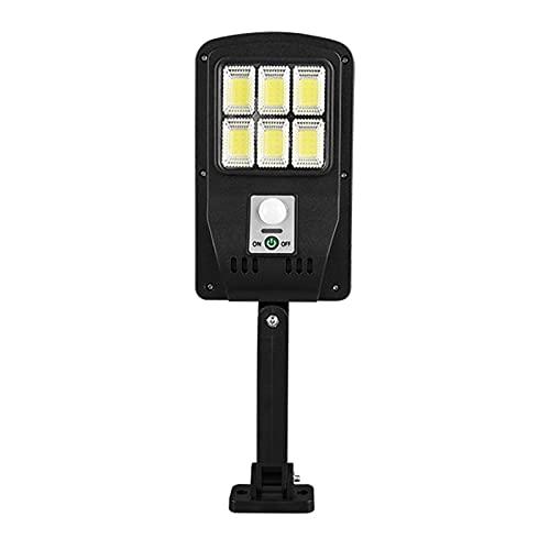 Fenteer Focos solares LED al Aire Libre Paisaje Separado IP65 Impermeable iluminación de la lámpara de Seguridad Auto-inducción para Patio jardín Entrada - 180-6 Seis Rejillas
