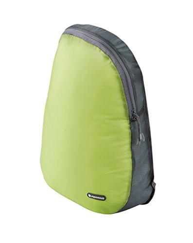 Ferrino O'Hare Sac à Dos Ultra léger avec 70 g de Volume 15 l et Housse de Pluie Vert