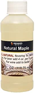 Natural Maple Flavoring 4oz