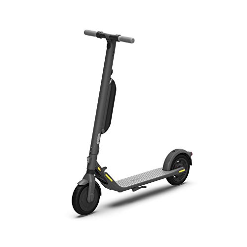 Segway Ninebot E45 Electric Kick Scooter, Lightweight and Foldable, Upgraded Motor Power, Dark Grey