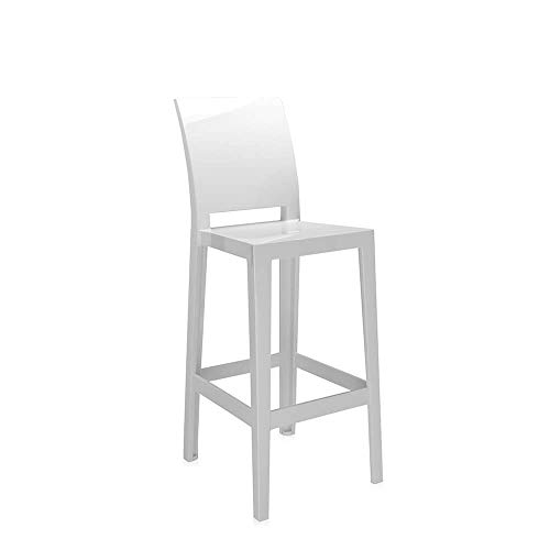 Kartell Set 2 One More Please Tabouret h.75 cm Blanc