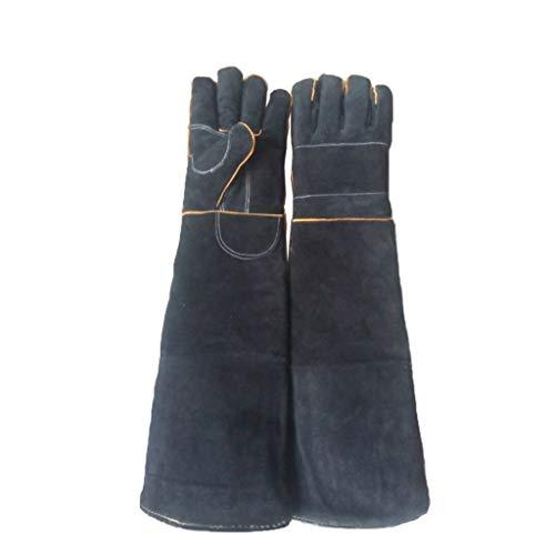 Huisdier anti-beet Handschoenen Dubbele Leer Versterking Handschoenen Bijgesneden Dieren Behandeling Handschoenen Mannelijke En Vrouwelijke Anti-scratch Handschoenen Duurzame Anti-beet