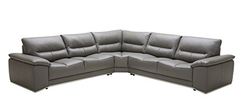 Why Should You Buy J and M Furniture The Cagliari Premium Leather Sectional