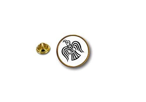 Akacha pinnen pin's Vlag Badge Metalen Lapel hoed Knop Biker Vlag Raven Odin Viking r2
