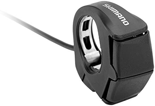 SHIMANO COMPONENTES Mando Steps Izquierdo E7000 Cable 400MM, Adultos Unisex, Negro (Negro)