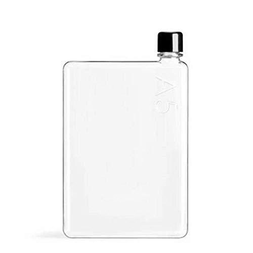 memobottle M002R A5 Wasserflasche, plastik, farblos