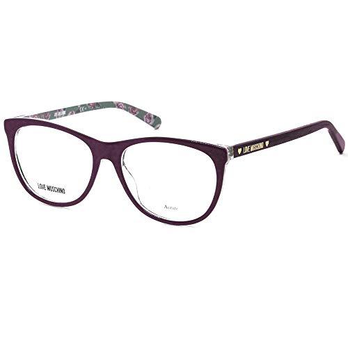 Love Moschino Sicht Brille Plum glänzend MOL524 0T7 53-16-145