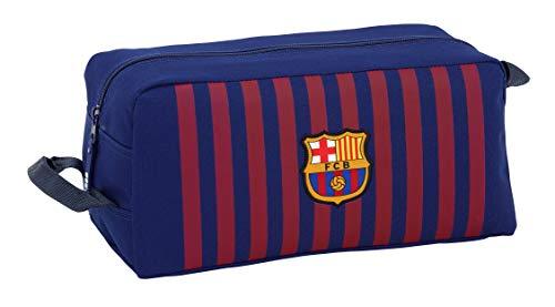 FCB FC Barcelona Estuche Accesorio de Viaje-Neceser, Niños, Azul, 34 cm