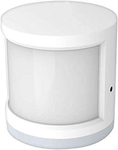 Sensor de movimiento ZigBee PIR Detector infrarrojo pasivo inalámbrico Sensor de alarma antirrobo Tuya / Control de aplicación SmartLife