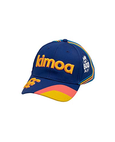 Kimoa - Curva Gorra de béisbol, Azul, Estándar Unisex Adulto