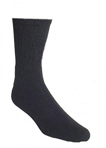 ch-home-design Tennissocken*10er Bündel* Sport Socken Ges&heits-socken Vollfrotteefuß Schwarz uni (35-38)