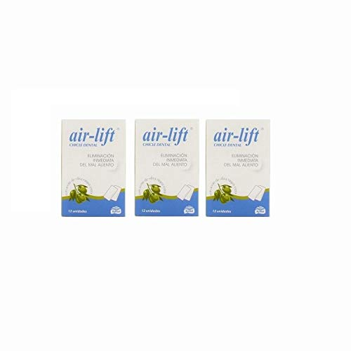 Air lift 3 cajas chicles malaliento (36 unidades)