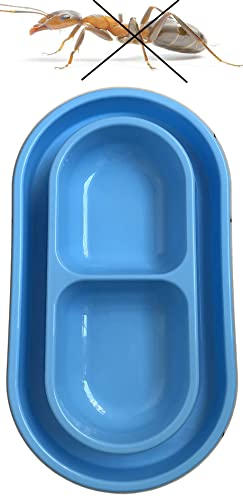Cat Dog Pet Food Bowl 32 Oz Ants Away Food Water Bowls Dish for Small to Medium Sized Dogs Cats - With You6688