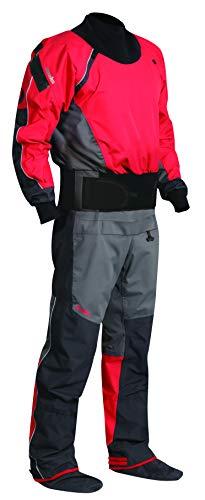 Nookie Chargeur Canoë Kayak Drysuit Dry Costume Gris Anthracite - imperméable et Respirant