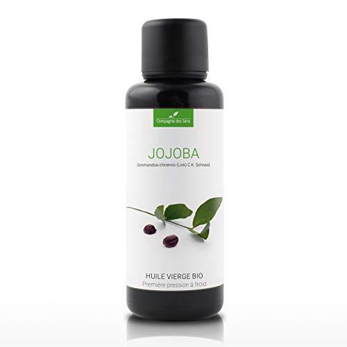 JOJOBA - 50mL - Huile Végétale Certifiée BIO, garantie vierge et de première pression à froid - Aromathérapie - La Compagnie des Sens