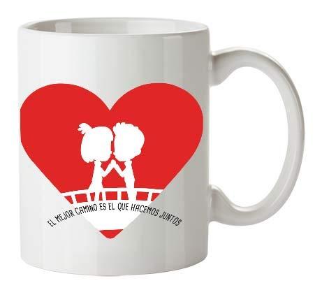 Kembilove Tazas de Desayuno para Parejas – Taza de Café con Dibujo...