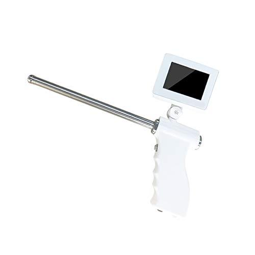 HYRL Instrumento de Pistola de inseminación Visual de Ciervo Profesional, inseminación Artificial transcervical Veterinaria con función de Calentamiento, Pantalla HD
