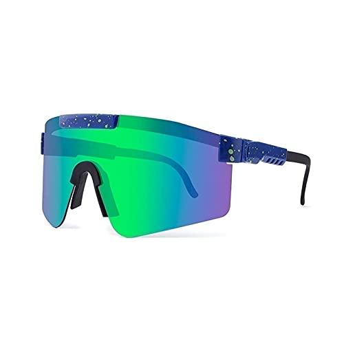 SNCAIZG Gafas de Sol polarizadas, al Aire Libre Pit-Vipers Gafas de Sol Gafas para Hombre Mujer Gafas de protección Deportiva Gafas para Ciclismo UV400 Gafas a Prueba de Viento