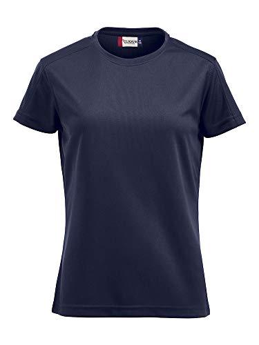 Damen Funktions T-Shirt aus Polyester von CLIQUE. Das T-Shirt für den Sport, perforiert und feuchtigkeitsabführend in 7 Farben und 5 Grössen von notrash2003 ( Navy, M )