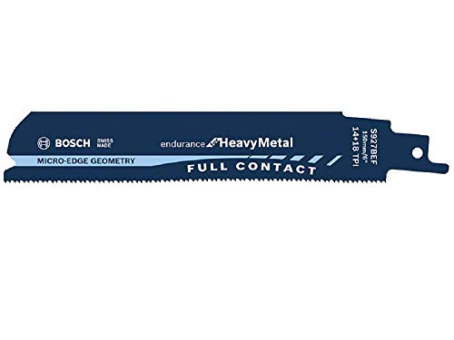 Bosch Professional 25 Stück Säbelsäge Blätter (Endurance for Heavy Metal, S 927 BEF, Zubehör für Säbelsägen)