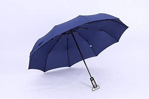 Mini kleine compacte opvouwbare reisparaplu, 10 bot automatische opvouwbare paraplu, winddichte zonnige paraplu, windbestendige Stick paraplu's