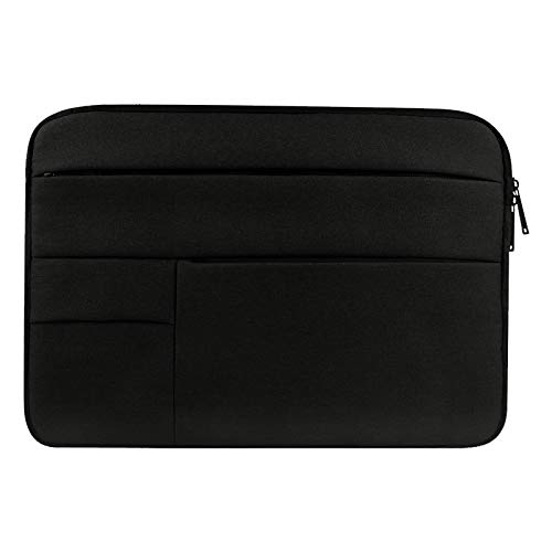 WXX Universal Multiple Pockets Wearable Oxford Cloth Soft Portable Leisurely Laptop Tablet Bag, For 15.6 inch and Below Macbook, Samsung, Lenovo, Sony, DELL Alienware, CHUWI, ASUS, HP (Black)