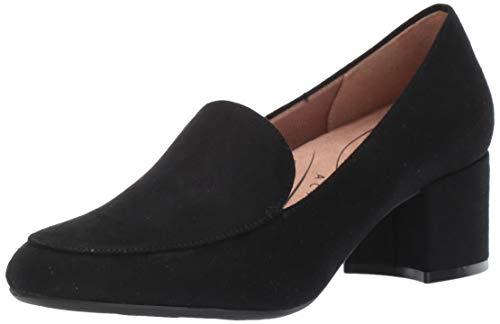 LifeStride Women's Trixie Loafer, Black, 8 W US