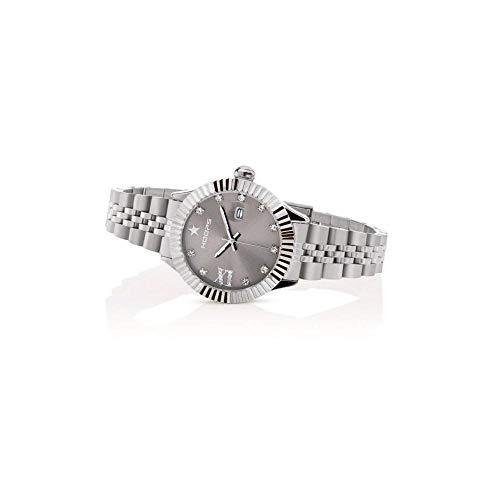 Orologio donna solo tempo Hoops New Luxury Diamond Grey