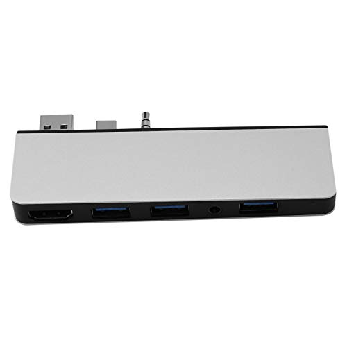 Xigeapg LP02 Docking Station, Lightweight and Portable Video Transmission Converter Suitable for Surface Laptop 2