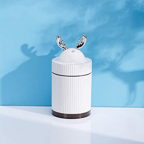Fulltime E-Gadget Christmas Deer Shape-Luftbefeuchter, Zerstäuber-Luftreiniger, sehr tragbar und benutzerfreundlich, 260 ml, ein Gerät für einen gesunden Lebensstil.