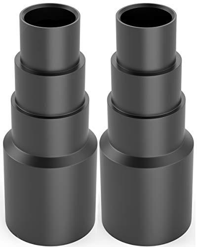 2 adaptadores de manguera universal – Adaptador de aspiradora – Reductor de manguera para, por ejemplo, Bosch, Makita, Karcher – Conexión a manguera de aspiradora
