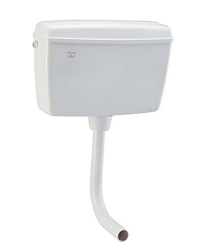 Parryware Slimline Tip Top Polypropylene Cistern (45x13x30.2cm, White)
