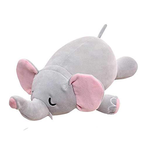 JONJUMP Lindo deformable en forma de U almohada de viaje almohada de viaje de dibujos animados animal coche reposacabezas muñeca de almacenamiento multifuncional