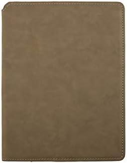 LUXPaper Junior Portfolio Small Faux Leather Padfolio with Memo Pad Business Portfolio Notebook product image