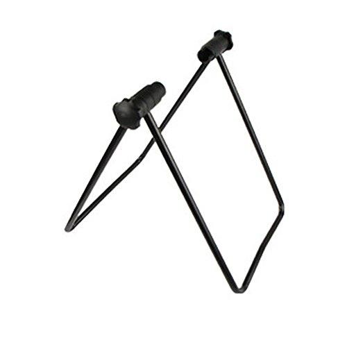 SUPW Nutzen Fahrrad Ständer, Höhenverstellbar, Faltbar Mechaniker Reparatur Rack Ständer für Aufbewahrung, Turnschuhe Training Innen Feststehend Stahlrahmen - Schwarz