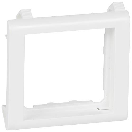Soporte mosaic para panel, 2 módulos, color blanco (Legrand 080291)