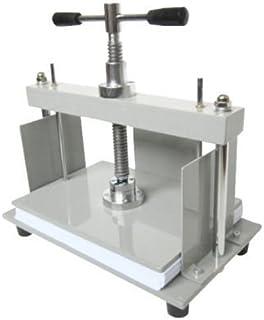 YUCHENGTECH A4 297 x 210 mm manuell papperspressmaskin platt maskin för kvittning kuponger fakturor
