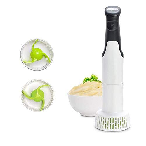 AXDF Stabmixer, 3-In-1-Set Multi Tool - Best Elektrischer Kartoffelstampfer, Perfekt Mischungen & Pürees Babynahrung, Gemüse & Kartoffeln