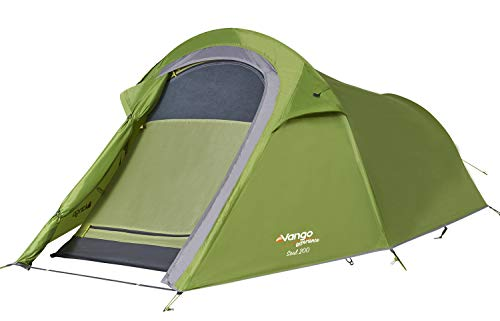 Vango Soul 200 Backpacking Tent, Green, One Size