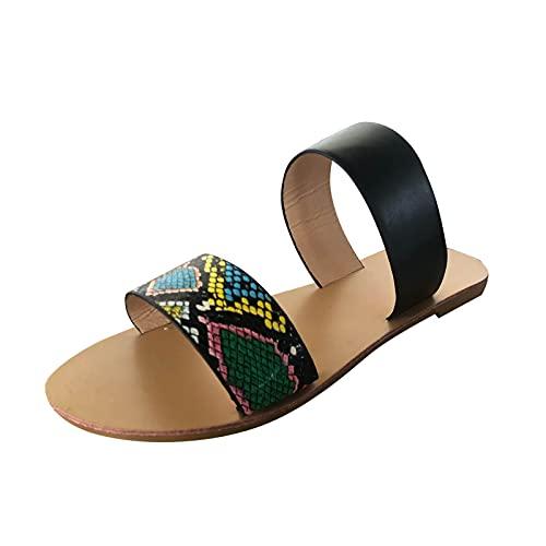 YHIIen Damen Sandale Bequem...