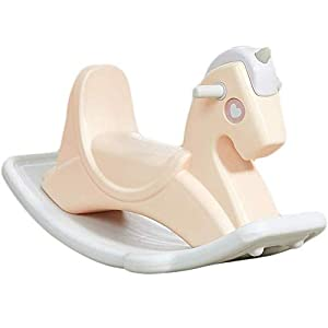 HEMFV Child Rocking Horse Kids Rocking Horse Chair Ride Toy for Children for Nursery & Playroom