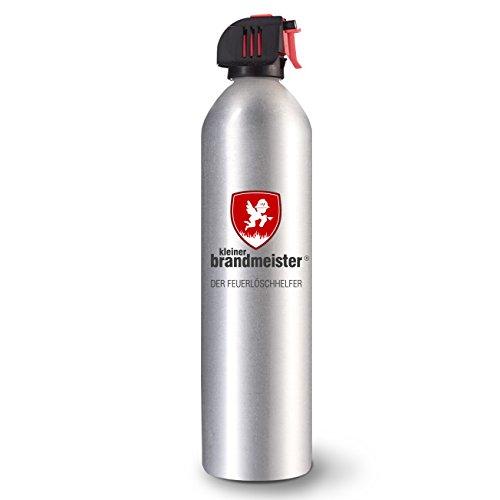Kleiner Brandmeister Feuerlöschspray 4er Set, löscht schnell Feuer und Fettbrand, für Wohnmobil, Küche, Grill, Brandschutz Zuhause und im Büro