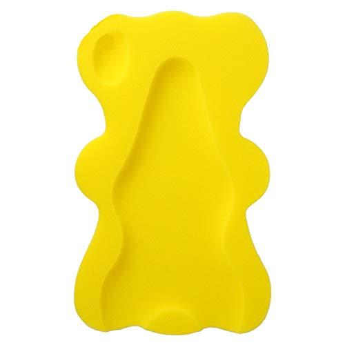 Baby Bad Sponge, Cartoon Bad net mat, Baby Bad mat, Zwembad Pasgeboren Badmat, Badkamer Slip, Geschikt voor 0-4 Jaar Oude Baby, size Geel