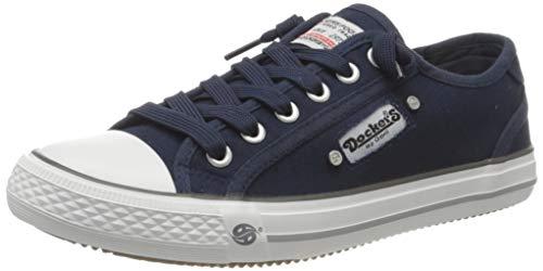 Dockers by Gerli Damen 42VE201-710660_40 Sneaker, blau, 40 M EU